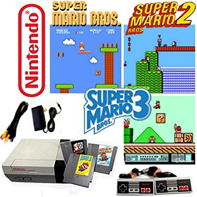 Nintendo NES Game System with Super Mario Bros. 1, 2 & 3