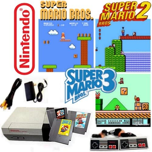 Amazon com: Nintendo NES Game System with Super Mario Bros