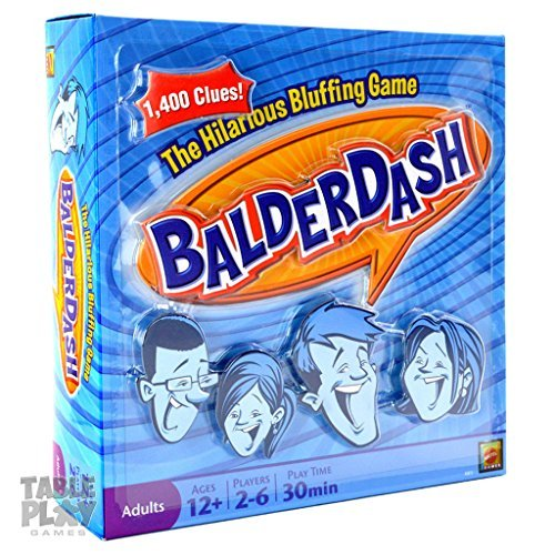 Balderdash The Hilarious Bluffing Game 1995 Edition (Bluffing Game)