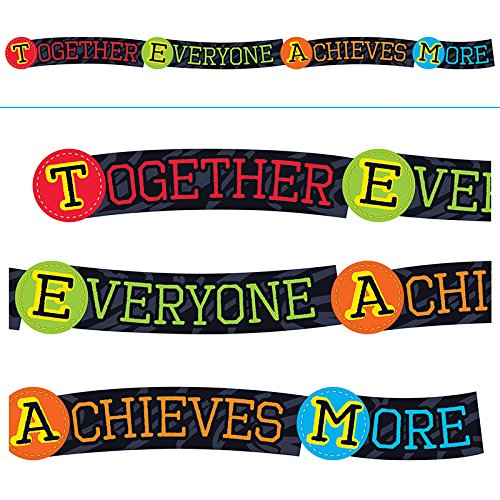 Trend Enterprises T-A25220BN 3 Each 10 ft. Together Everyone Achieves More Banner