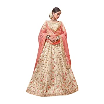 8ad0e971d8 Amazon.com: Silk Stylish Bridal Wedding Collection Festival Diwali Heavy Lehenga  Ghagra Choli Designer Handwork Indian Muslim 7248: Home Improvement
