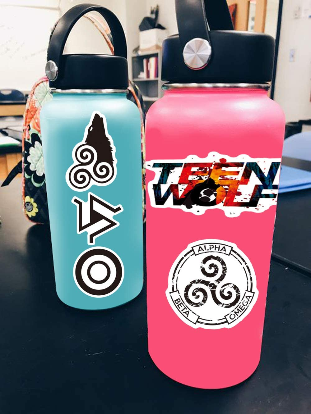 Avatar Stickers for Water Bottles,50 PackCartoon Stickers Pack,Waterproof,Aesthetic,Trendy Stickers for Teens,Girls Perfect for Waterbottle,Laptop,Phone,Travel Case