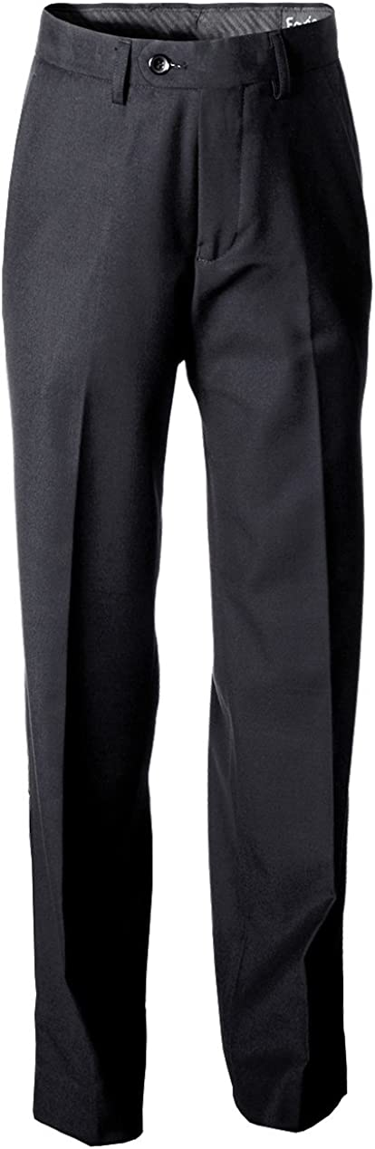 Fouger Boys Charcoal Grey Dress Pants