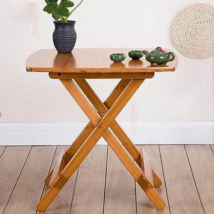 mesa plegable ZHIRONG portátil, Mesa de Comedor, Mesa de ...