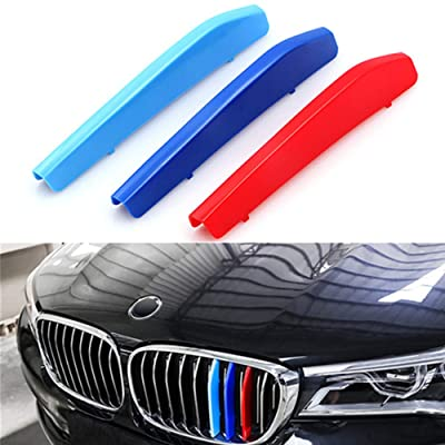 TOPGRIL M-Colored Stripe Grille Insert Trims M-Performance Sport Grille Insert Trim Strips For 2016-2020 BMW G11 G12 7 Series 740i 750i 750Li etc Kidney Grill (9 Beams ONLY): Automotive [5Bkhe2000486]