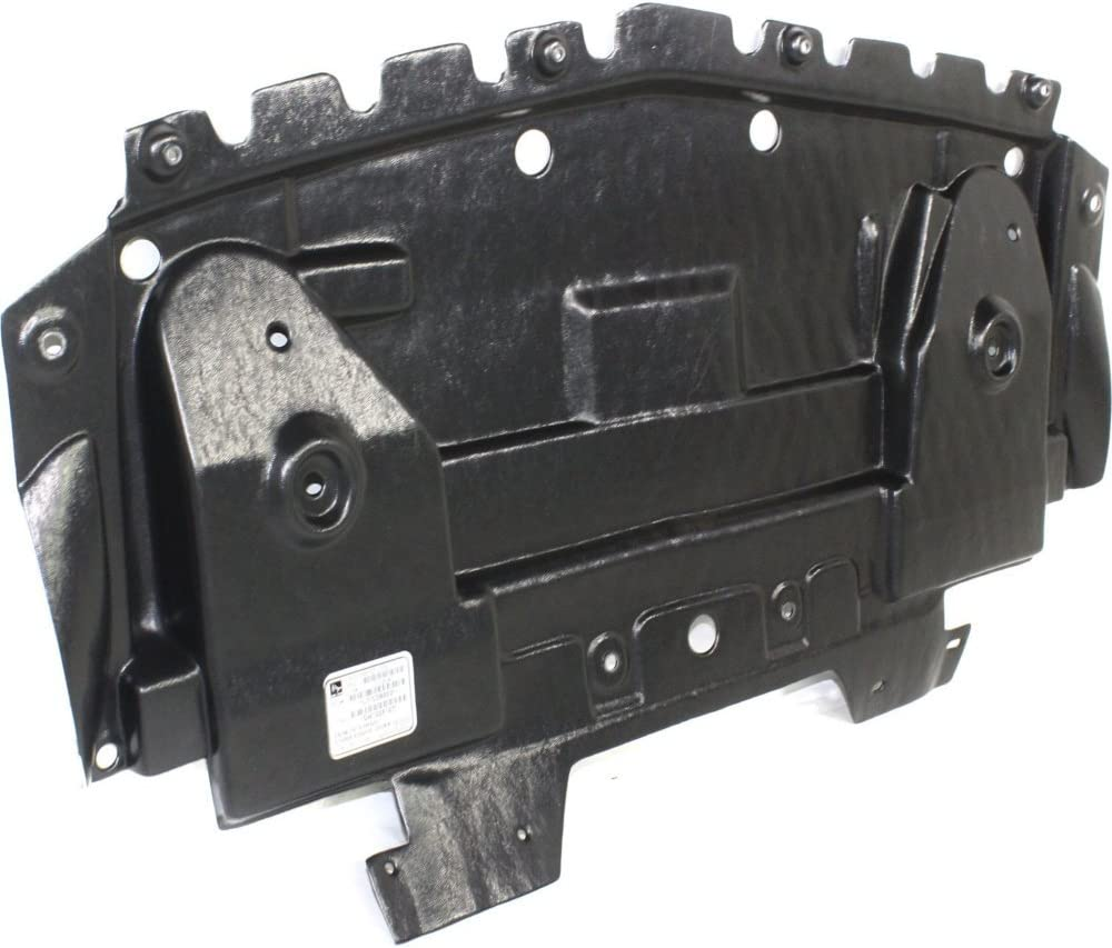Sedan Excludes V Model For Cadillac CTS Front Engine Splash Shield 2008 09 10 11 12 13 2014 Under Cover RWD 15849031 GM1228135 Coupe 3.0L//3.6L Wagon