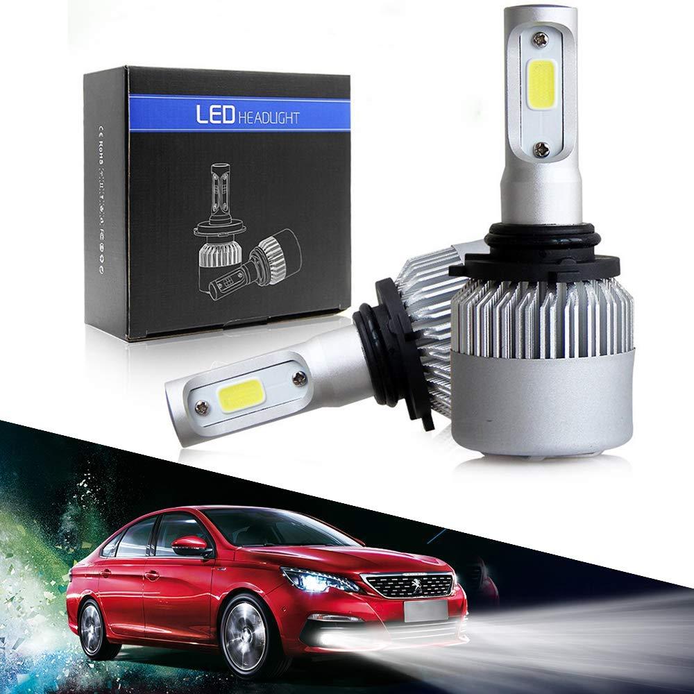 1 Year Warranty cciyu H7 Headlight Bulb 360 Degree Cree All-In-One Lights Conversion Kit 8000Lm 72W 6000K White Focus Light 2pcs