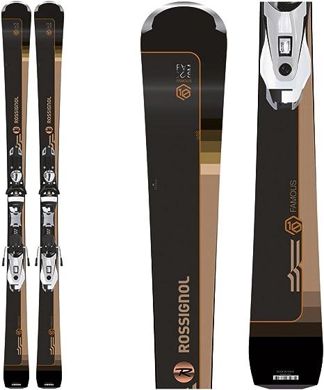 Pack ski FAMOUS 10 K + NX 12 K DUAL BK/SP: Amazon.es: Deportes y aire libre