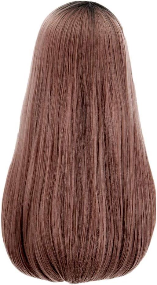 ToDIDAF - Peluca para mujer, 65 cm de largo, pelo lacio Qi ...