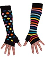 United Oddsocks Ladies Girls Mis Match Armwarmers