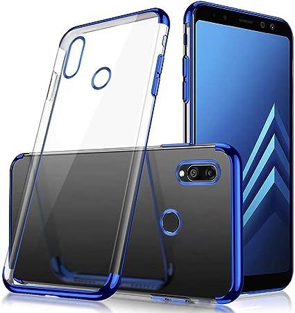 JAWSEU Funda Transparente Compatible con Huawei Y9 Prime 2019/P ...