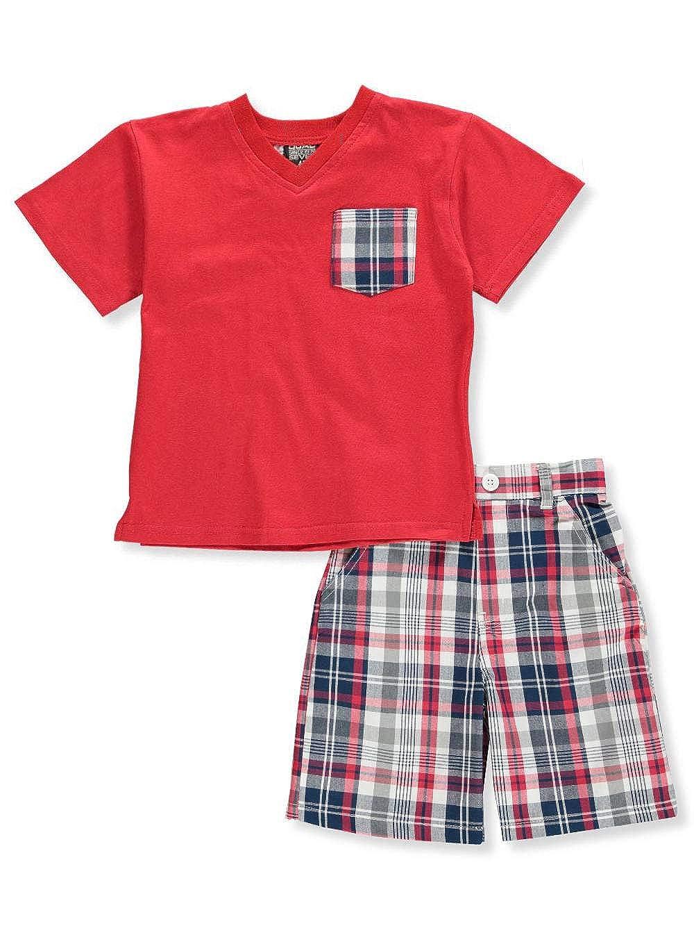 Quad Seven Boys' 2-Piece Shorts Set Outfit