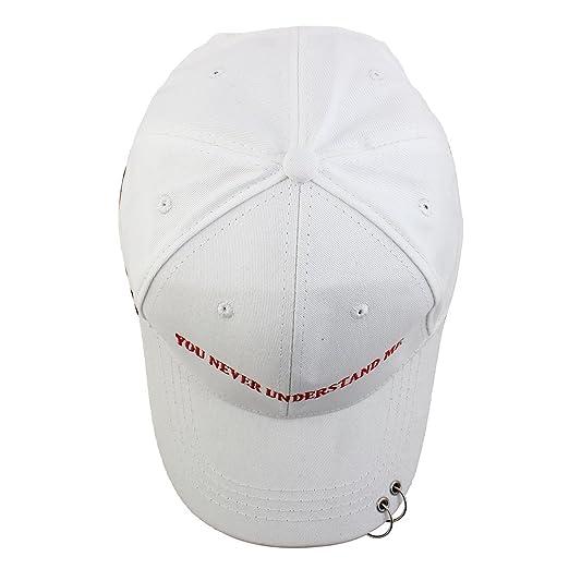 Amazon.com : eDealMax Unisex Mezclas de algodón Patrón Cartas de deportes al aire Libre Ejercicio Gorra de béisbol del visera : Sports & Outdoors