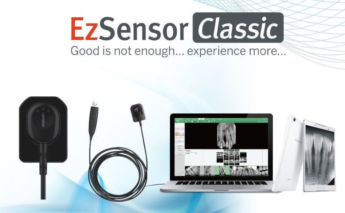 Vatech EzSensor Size 1.5 with All Accessories
