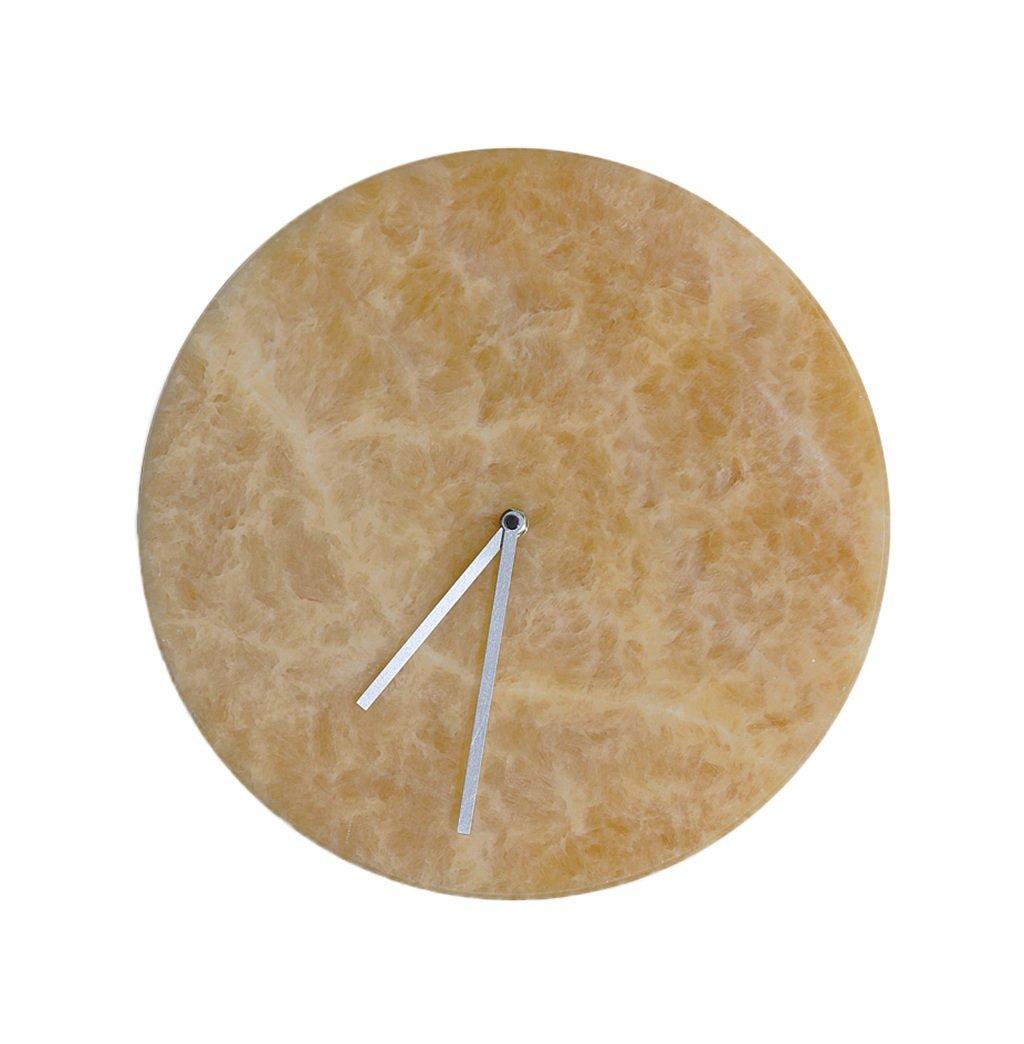 ZYH オフィスビルの壁時計、30-35CM大理石のテクスチャ壁時計ヴィラ研究家具のショップの壁時計 絶妙 (色 : A, サイズ さいず : 35 * 35CM) B07FD1R11J 35*35CM|A A 35*35CM