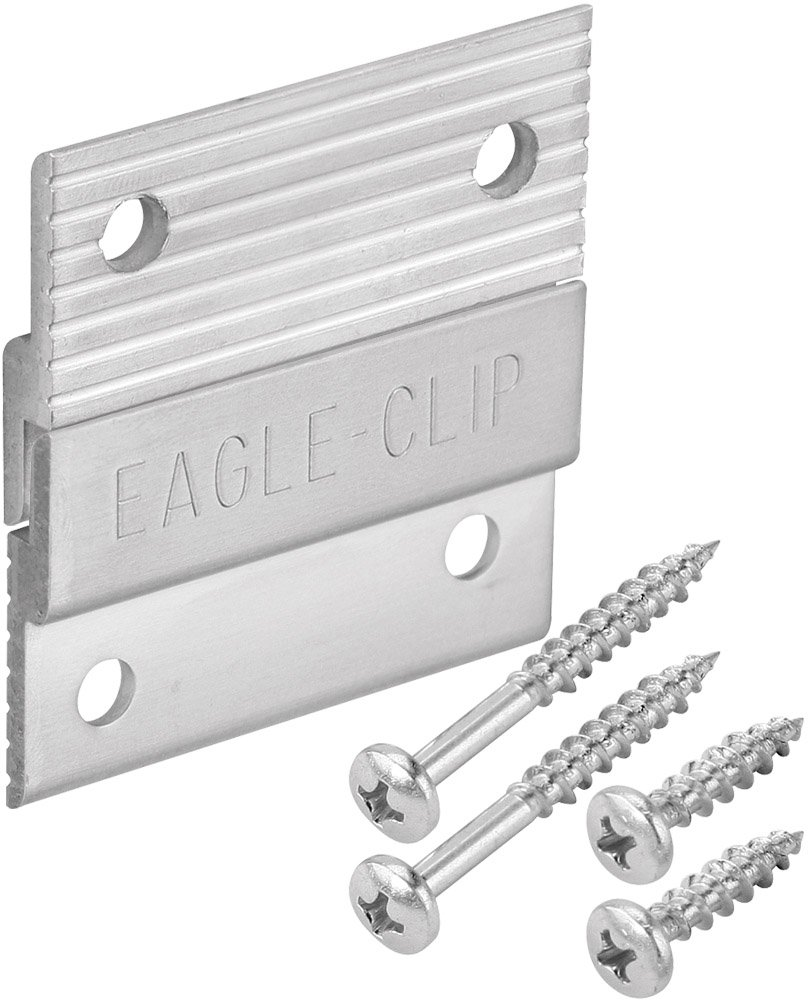 Platte River 164484, Fasteners, Mechanical Fasteners, Aluminum Z-Clips 2'', 20-pack by Platte River