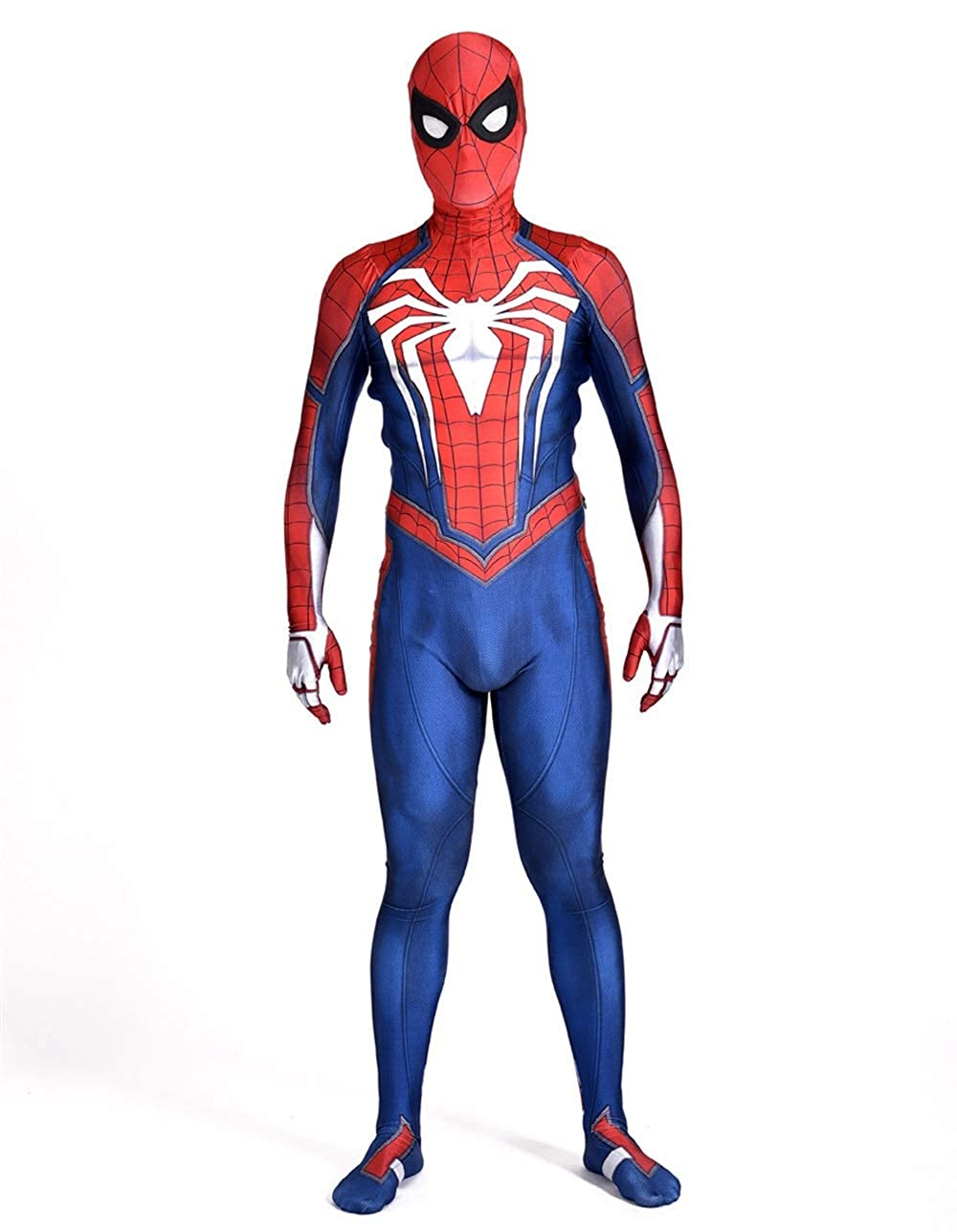 Spider Man Halloween Costume Adults.Spider Superhero Ps4 Game 2018 Cosplay Costumes Adult 3d Style New Edition