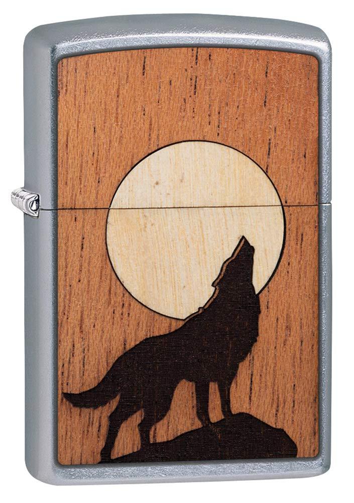 Zippo Woodchuck USA Howling Wolf
