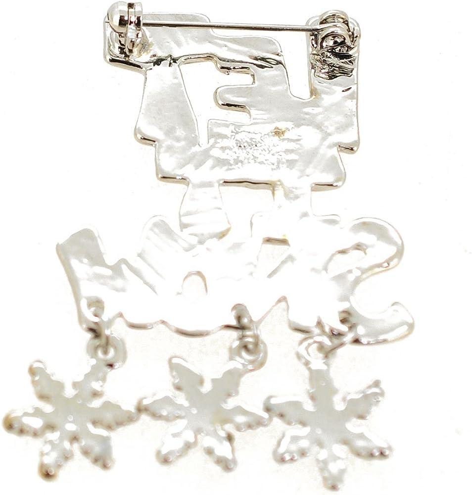 Fantasyard Let It Snow Brooch Pin