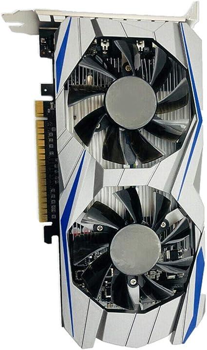 Dwigh carte graphique durable avec ventilateur de refroidissement pour ordinateur GTX 1050 Ti 4G DDR5