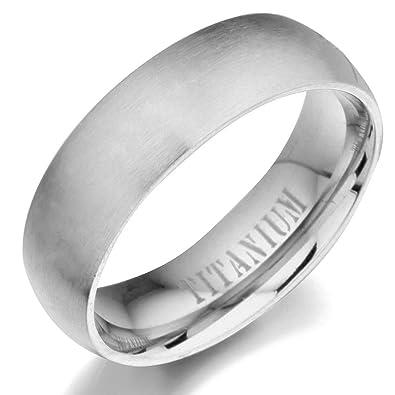 Gemini Men's or Women's Matt & Polish Anniversary Wedding Titanium Ring Valentine's Day Gift for Men 6MO52J4