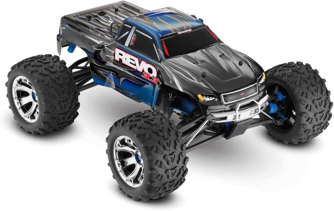 TRAXXAS Revo 3.3: 1/10 Scale 4WD Nitro-Powered Monster Truck