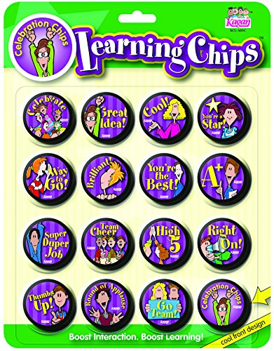 - Kagan Cooperative Learning Chips: Celebration (MDC)