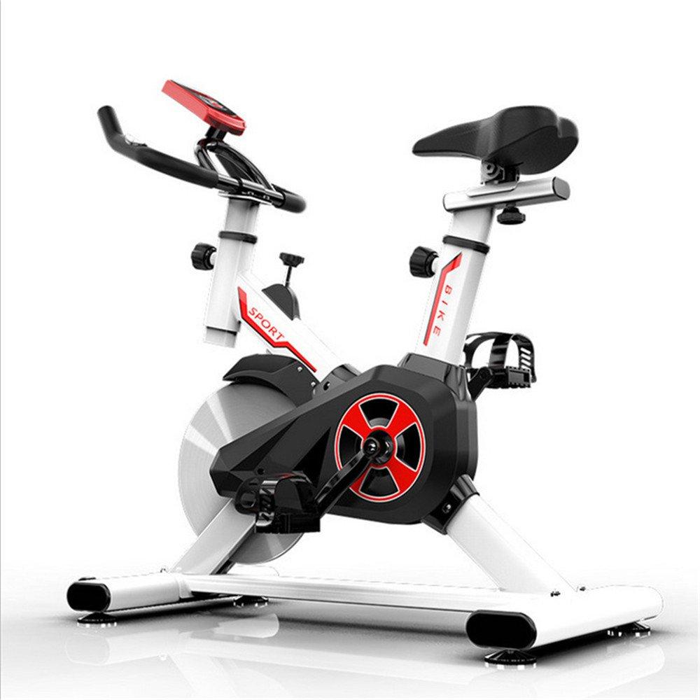 Bangxiu Bicicleta estática de Fitness Spinning Exercise Gym Pedal Indoor Aeróbicos Home Fitness Bike Manillar y Asiento Ajustables