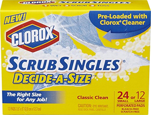 Clorox Scrub Singles Decide Scouring product image