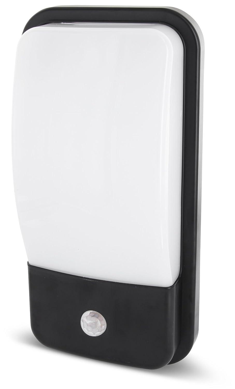 LED 2in1 Wandleuchte IP65 mit Bewegungsmelder + Dämmerungssensor - 20W 1600lm - warmweiß (3000 K) [Energieklasse A+] HAVA