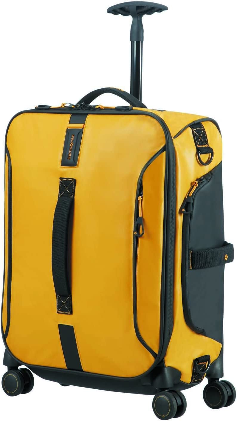 Samsonite Paradiver Light - Bolsa de Viaje, Amarillo (Yellow), S (55 cm - 50 L)