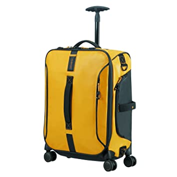 SAMSONITE Paradiver Light - Spinner Duffle Bag 55/20 Bolsa de Viaje, 55 cm, 50 Liters, Amarillo (Yellow): Amazon.es: Equipaje