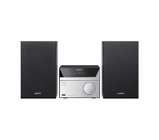 144 opinioni per Sony CMT-SBT20B Sistema Micro Hi-Fi con Mega Bass, Potenza 12W, Lettore CD,