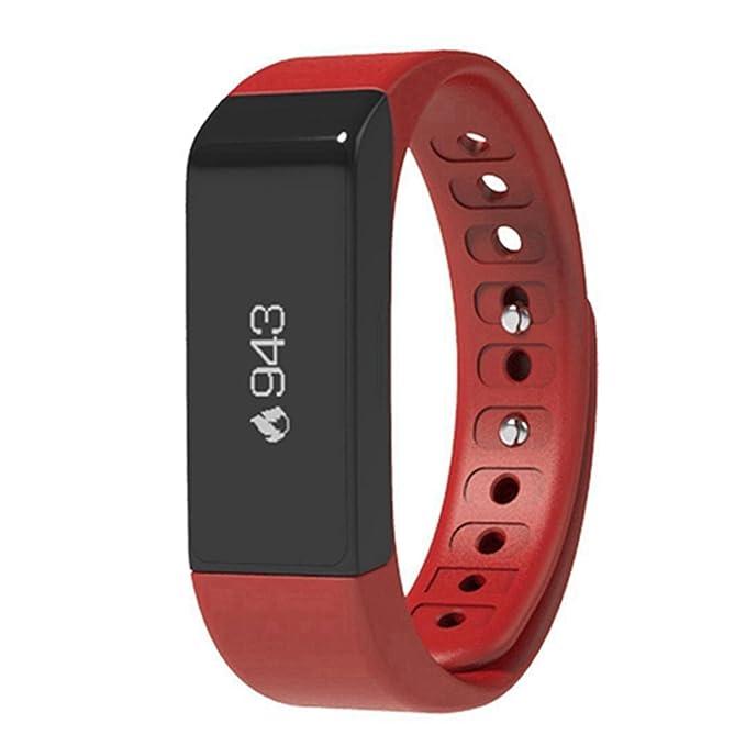 viwel i5 Plus Pulsera Actividad de Pulsera Inteligente Smart Bracelet Smartband Fitness Tracker OLED Táctil con el Podómetro, Monitor de Dormir ...