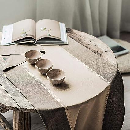 Amazon Com Dixinla Table Runner Creative Design Modern Coffee Table