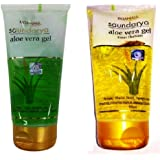 Patanjali Combo of Saundarya and Kesar Chandan Aloe Vera Gel, 150 ml