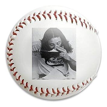 S21WSP - Pelota de béisbol con diseño de cocaína, Fiesta: Amazon ...
