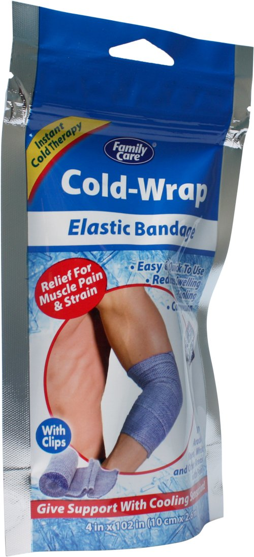 Family Care Cold Elastic Bandage, Case of 24