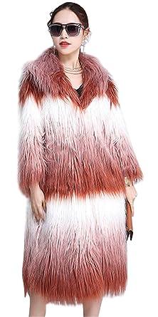 c107d617acb ACE SHOCK Faux Fur Coat Women Plus Size