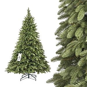 Künstlicher Tannenbaum Wie Echt.Fairytrees Künstlicher Weihnachtsbaum Alpenfichte Premium