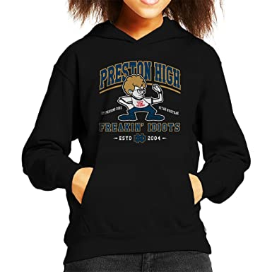 84661340 Image Unavailable. Image not available for. Colour: Cloud City 7 Preston  High School Napoleon Dynamite Kid's Hooded Sweatshirt