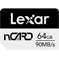 Lexar nCARD 64 GB NM Nano minneskort för Huawei telefoner (LNCARD-64GAMZN)