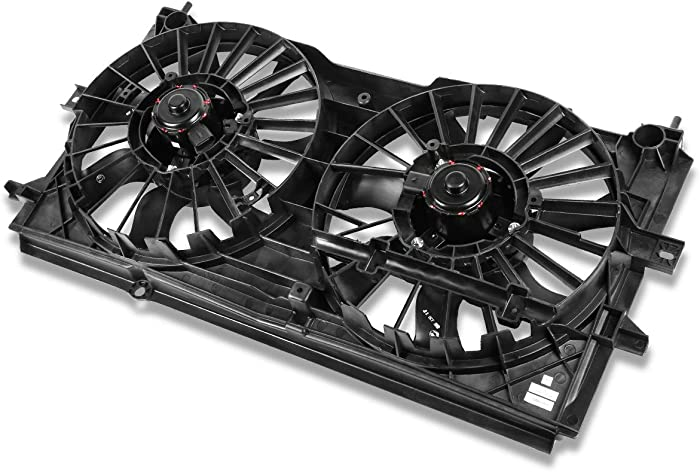 GM3117108 OE Style Radiator Cooling Fan Assembly for Chevy Monte Impala 3.4L 3.8L 00-03