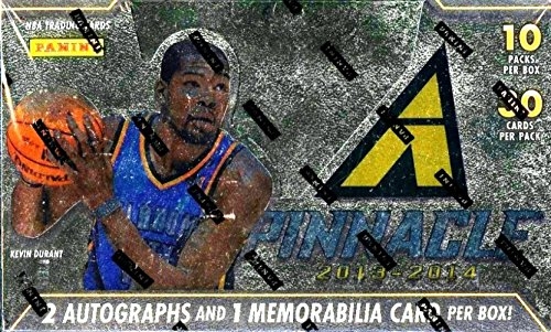 2013/14 Panini Pinnacle Basketball Factory Sealed HOBBY JUMBO Box-3 AUTOGRAPH/MEM-Giannis Antetokounmpo RC Year! from Wowzzer