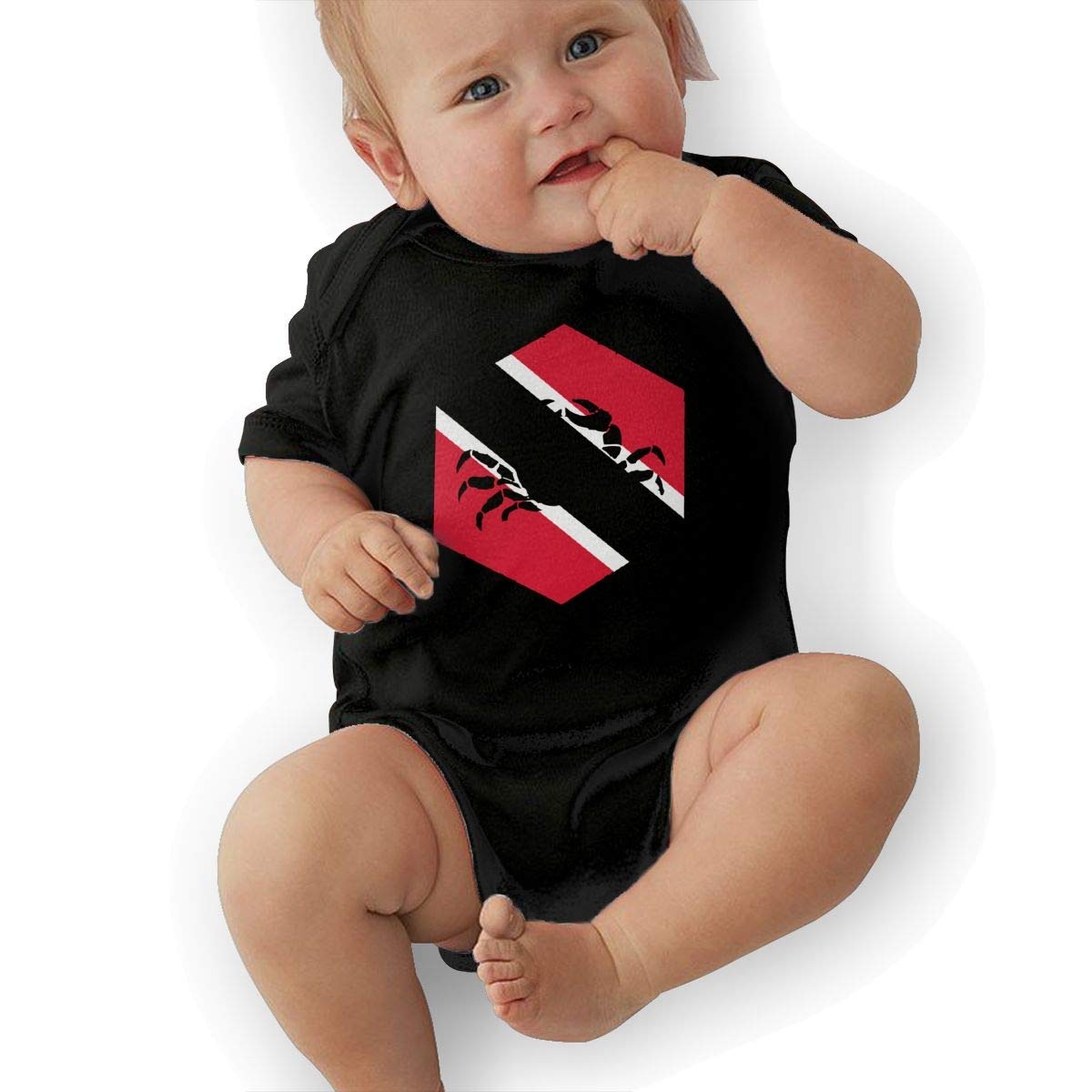 Suit 6-24 Months Baby Boys Cancer Trinidad Short Sleeve Climbing Clothes Bodysuits