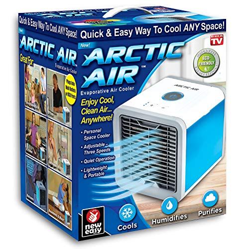 - Ontel Arctic Personal Air Cooler, White