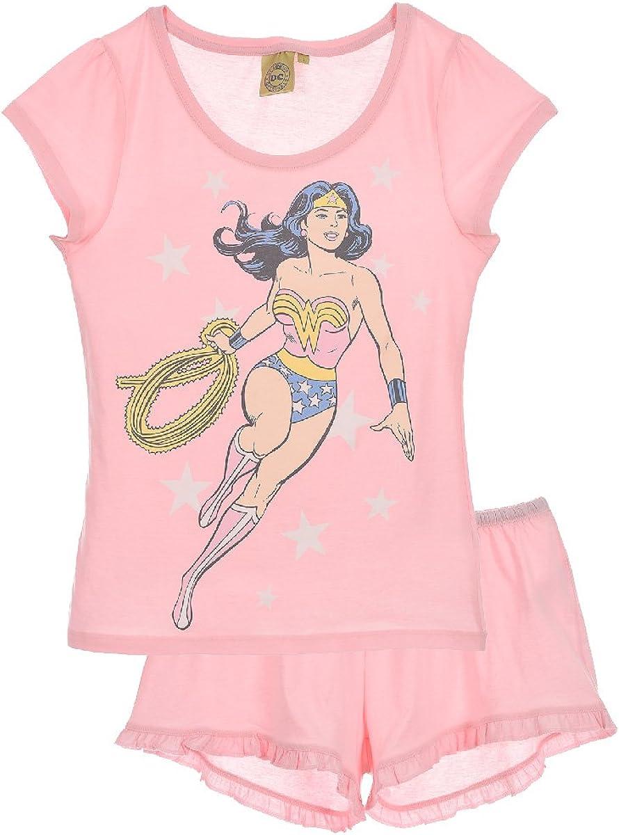 Wonder Woman Pelele para Dormir para Mujer