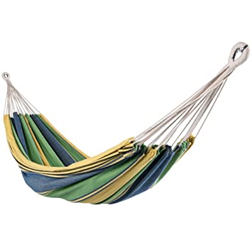 lazydaze hammocks outdoor portable double size canvas hammock for two person with carry bag 450 amazon     lazydaze hammocks outdoor portable double size canvas      rh   amazon