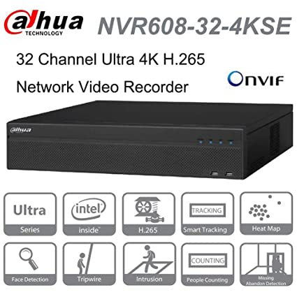 Amazon com : Dahua NVR NVR608-32-4KS2 32 Channel Ultra 4K H 265