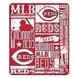 Cincinnati Reds 50x60 Fleece Blanket - Strength Design